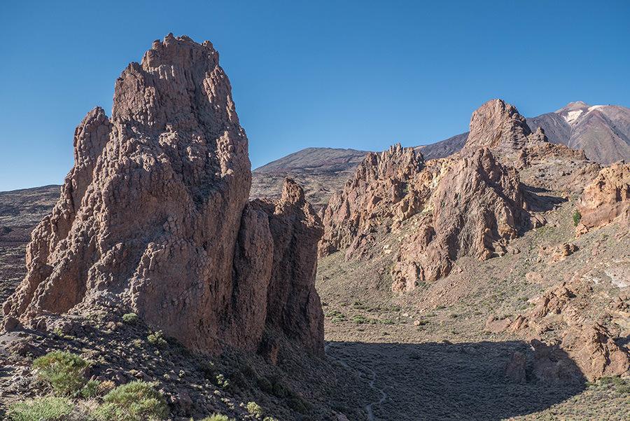 A Tasty Hike - El Teide Gipfel Teneriffa - Wanderung Roques de Garcia - Kathedrale von oben