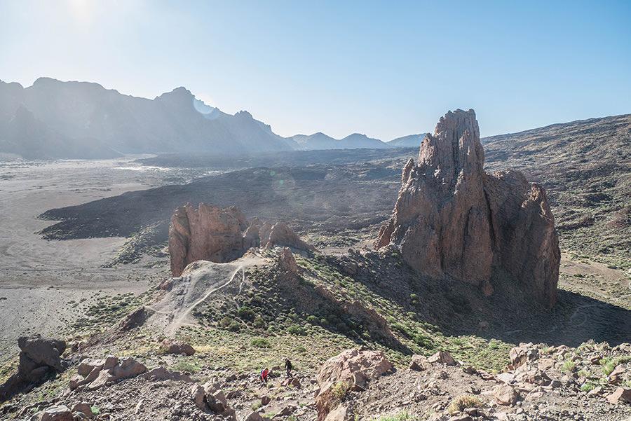 A Tasty Hike - El Teide Gipfel Teneriffa - Wanderung Roques de Garcia - Letzte Aussicht
