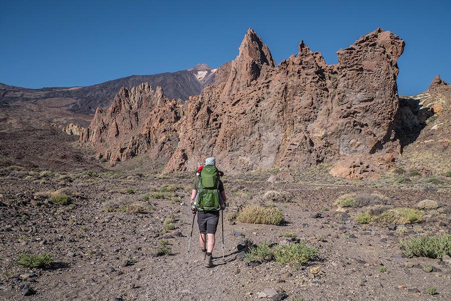A Tasty Hike - El Teide Gipfel Teneriffa - Wanderung Roques de Garcia - Rueckweg