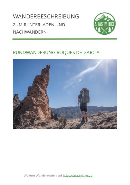 Wanderung Roques de Garcia Teneriffa - Wanderbeschreibung