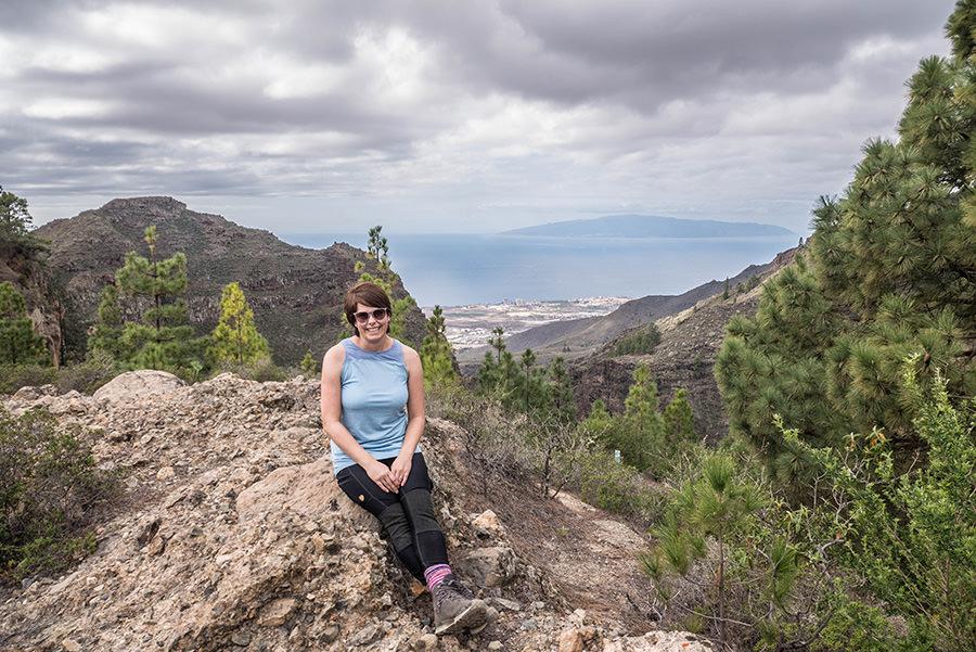 A Tasty Hike - Wanderfuehrer Teneriffa - Kleine Ifonche Runde - Aussicht geniessen