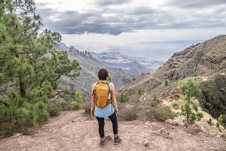 A Tasty Hike - Wanderfuehrer Teneriffa - Kleine Ifonche Runde - Aussicht