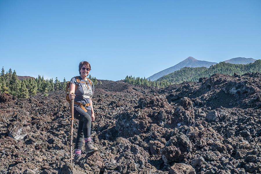 A Tasty Hike - Wandern Teneriffa - Rundwanderung Vulkan Chinyero - Jana