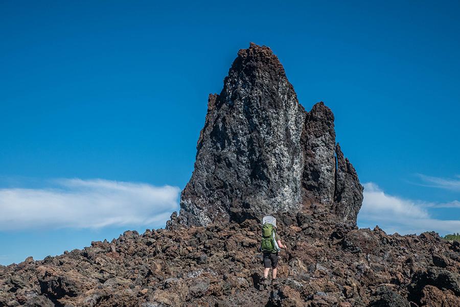 A Tasty Hike - Wandern Teneriffa - Rundwanderung Vulkan Chinyero - Lavafeld