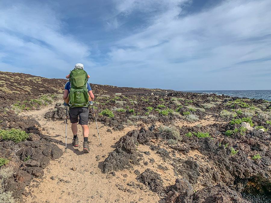 A Tasty Hike - Kuestenwanderung - Teneriffa - Malpais de Gueimar - Christian