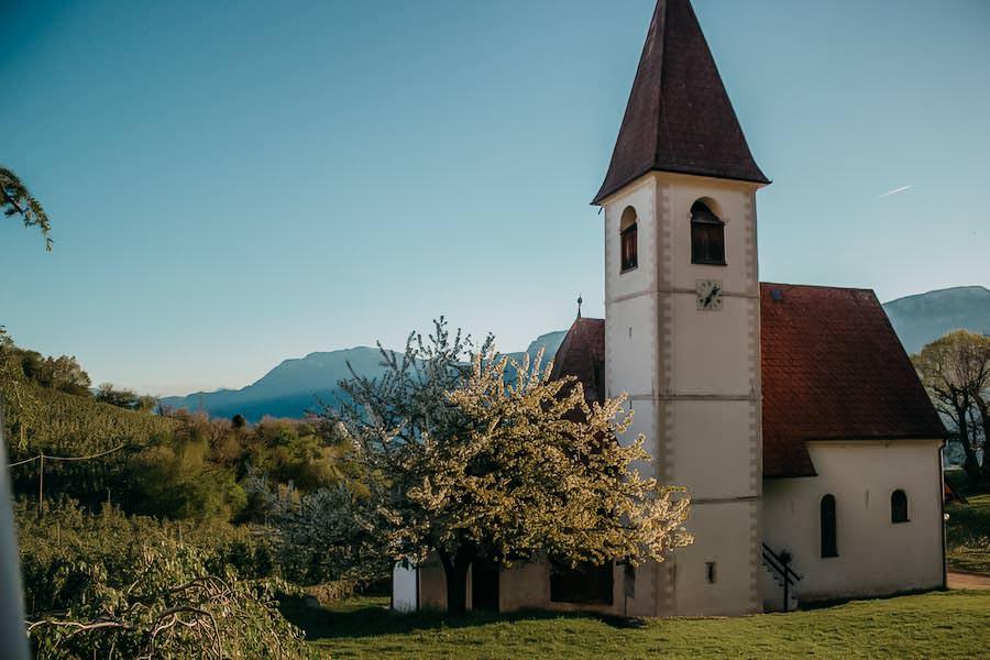 Restaurants in Südtirol - Gasthaus Messner - Kirche