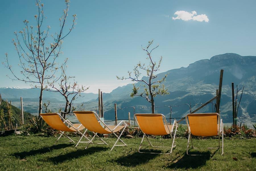 Restaurants in Südtirol - Hof Oberlegar - Ausblick