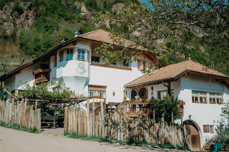 Restaurants in Südtirol - Hof Oberlegar - Hof
