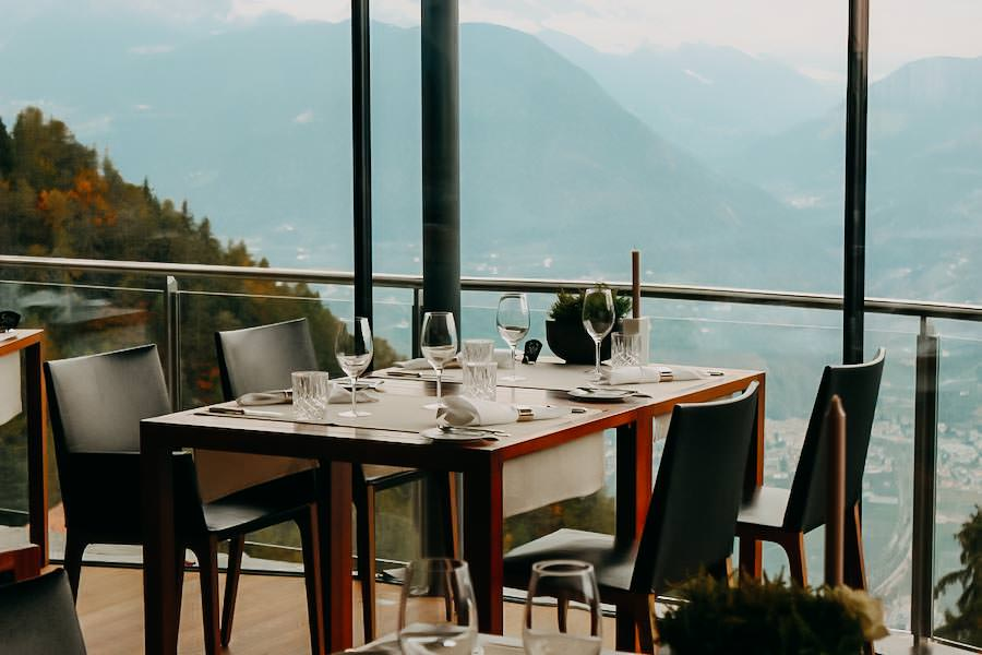 Restaurants in Südtirol - Miramonti Hafling - Panorama Restaurant