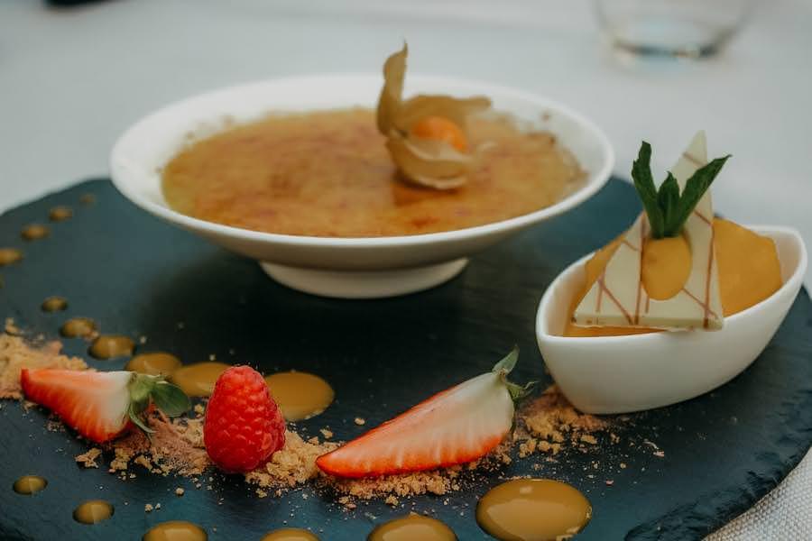 Restaurants in Südtirol - Restaurant Kallmünz Meran - Dessert