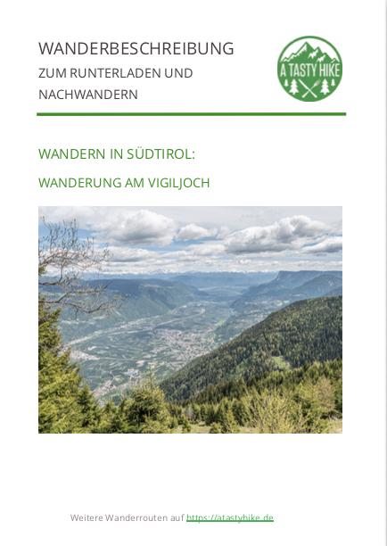 A Tasty Hike - Wanderung am Vigiljoch in Südtirol