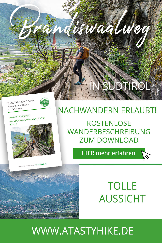 Waalweg Lana – Gemütliche Wanderung auf dem Brandiswaalweg in Südtirol