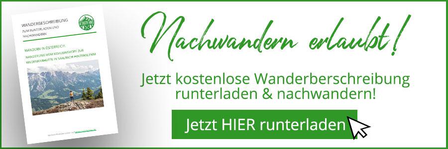 Saalbach Hinterglemm Sommer - Wanderung vom Kohlmaiskopf zur Wildenkarhuette - A Tasty Hike - Wanderbeschreibung