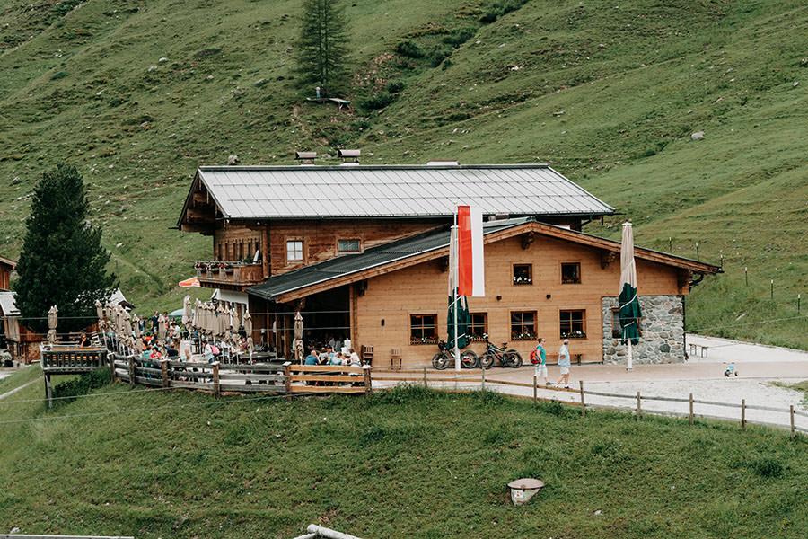 A Tasty Hike - Saalbach Hinterglemm mit Kindern - Talschluss - Lindlingalm