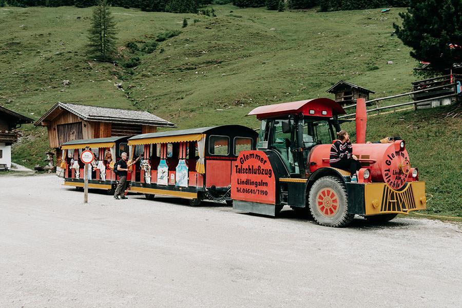 A Tasty Hike - Saalbach Hinterglemm mit Kindern - Talschluss - Talschlusszug