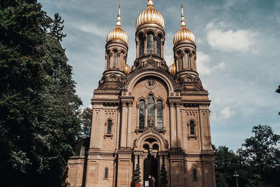 A Tasty Hike - Wiesbaden Aktivitaeten - Wiesbaden Sehenswuerdigkeiten - Russische Kapelle