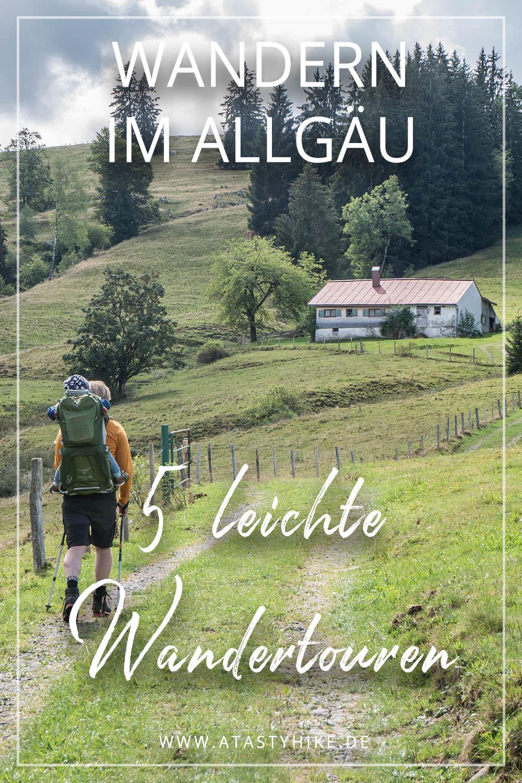 5 leichte Wanderungen im Allgäu - die besten Touren für Wanderanfänger