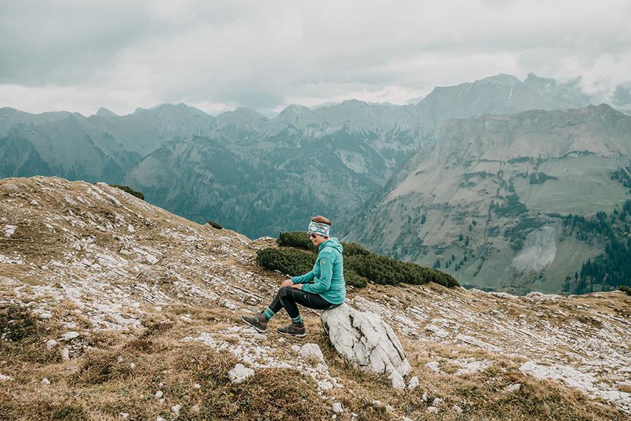 A Tasty Hike - Grosser Daumen Wanderung - Grosser Daumen Wandern - Allgaeu - Aussicht