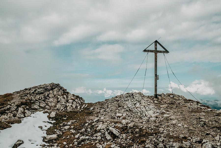 A Tasty Hike - Grosser Daumen Wanderung - Grosser Daumen Wandern - Allgaeu - Gipfel