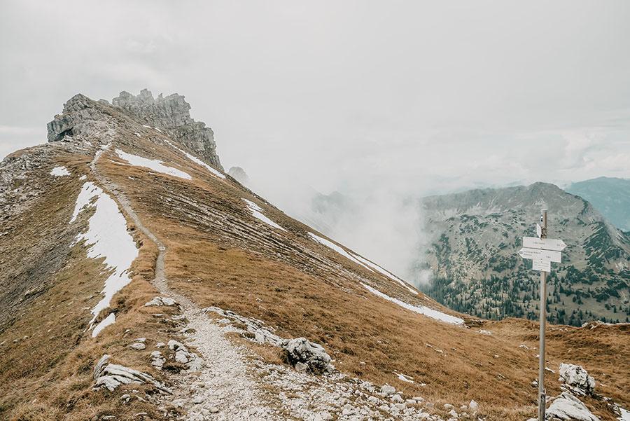 A Tasty Hike - Grosser Daumen Wanderung - Grosser Daumen Wandern - Allgaeu - Kamm