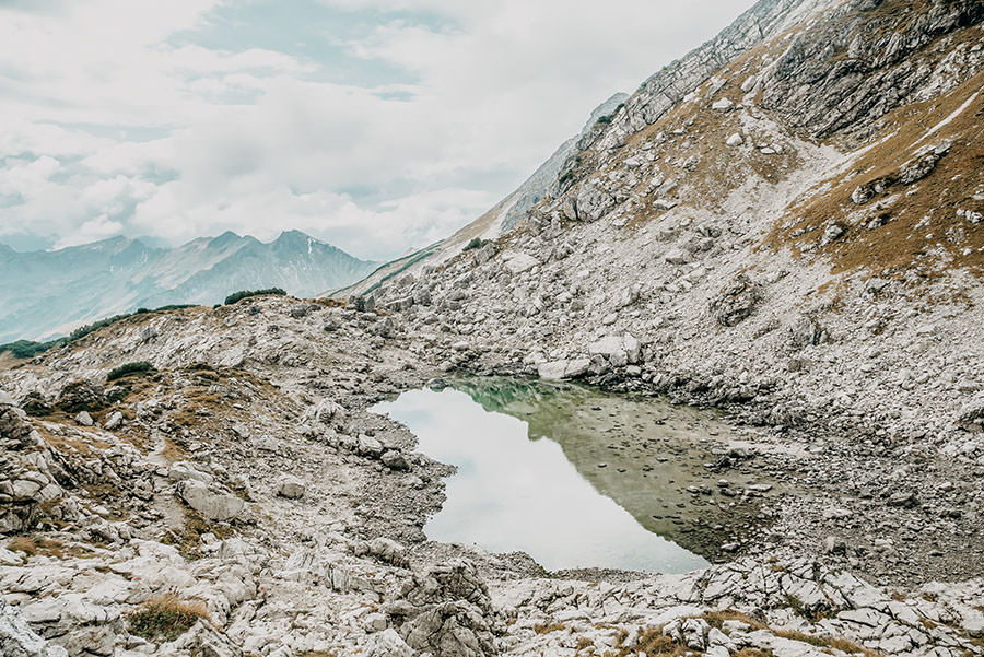 A Tasty Hike - Grosser Daumen Wanderung - Grosser Daumen Wandern - Allgaeu - Koblatsee