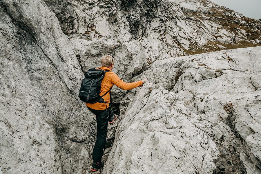 A Tasty Hike - Grosser Daumen Wanderung - Grosser Daumen Wandern - Allgaeu - Kraxeln