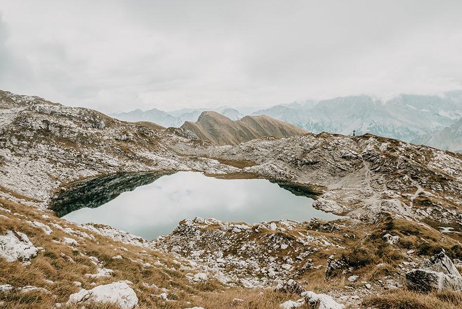 A Tasty Hike - Grosser Daumen Wanderung - Grosser Daumen Wandern - Allgaeu - Laubichelsee