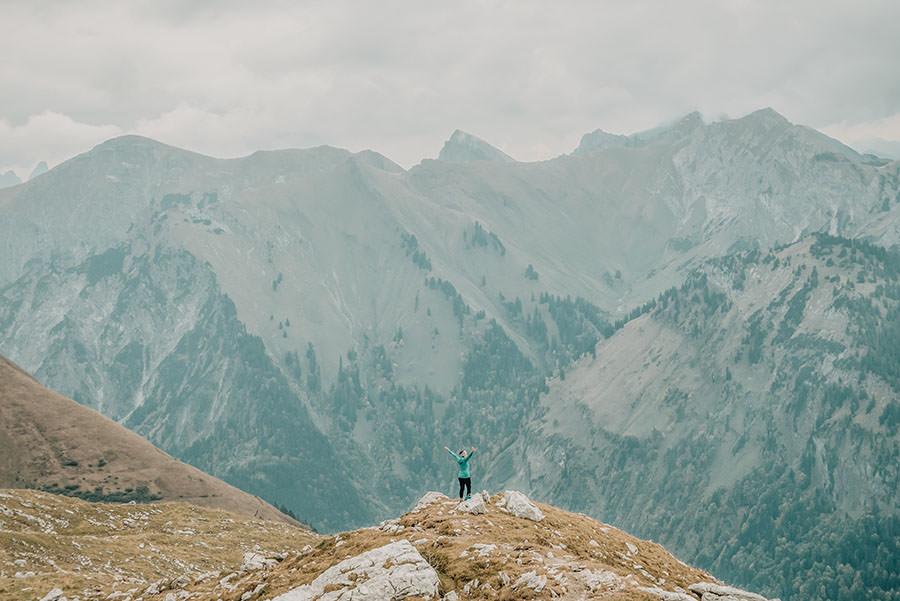 A Tasty Hike - Grosser Daumen Wanderung - Grosser Daumen Wandern - Allgaeu - Titel