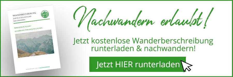 A Tasty Hike - Grosser Daumen Wanderung - Grosser Daumen Wandern - Allgaeu - Wanderbeschreibung Banner