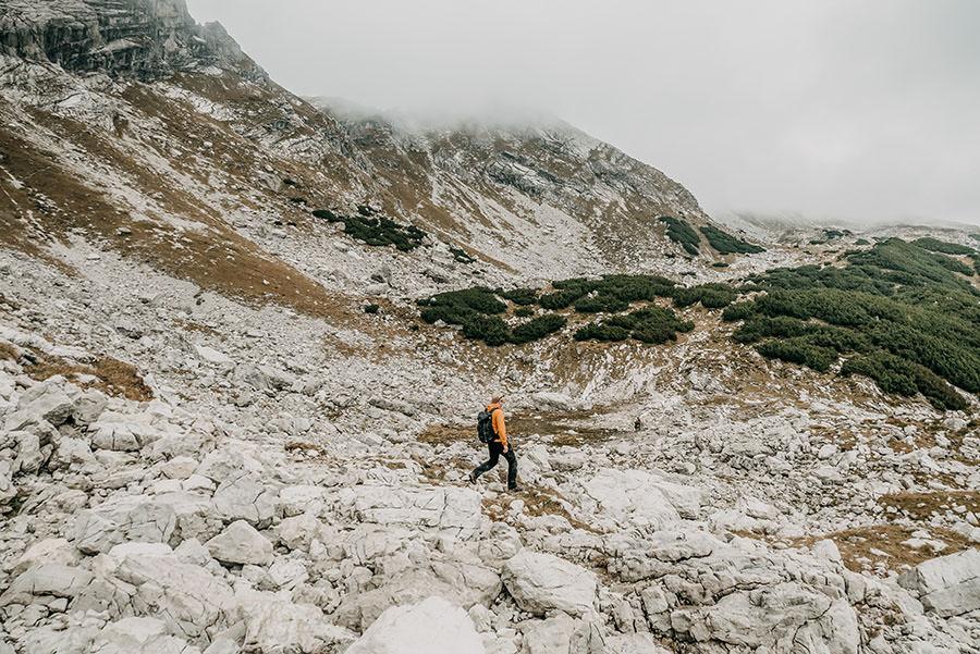 A Tasty Hike - Grosser Daumen Wanderung - Grosser Daumen Wandern - Allgaeu - Wandern auf Gestein