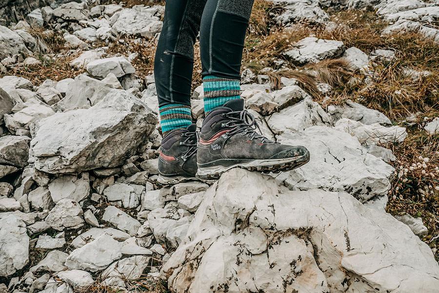 A Tasty Hike - Grosser Daumen Wanderung - Grosser Daumen Wandern - Allgaeu - Wanderschuhe