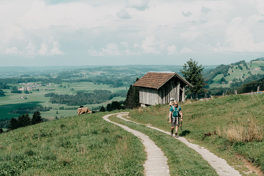 A Tasty Hike - Gruenten Wandern - Lustiger Wanderweg Allgaeu - Titel