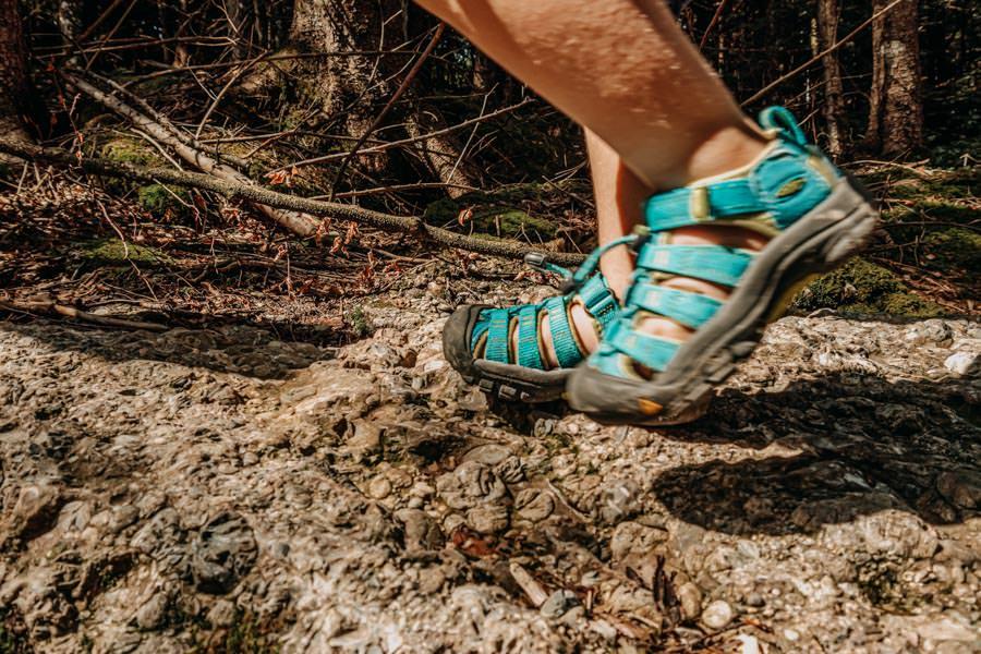 A Tasty Hike - Gruenten Wandern - Lustiger Wanderweg Allgaeu - Zwergsteiger – Keen Kinderwanderschuhe wandern