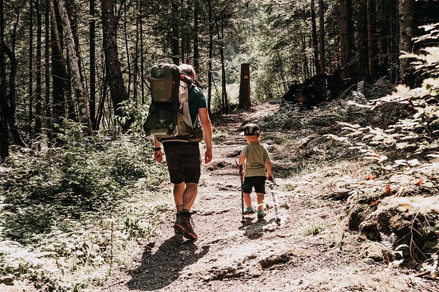 A Tasty Hike - Gruenten Wandern - Lustiger Wanderweg Allgaeu - Zwergsteiger