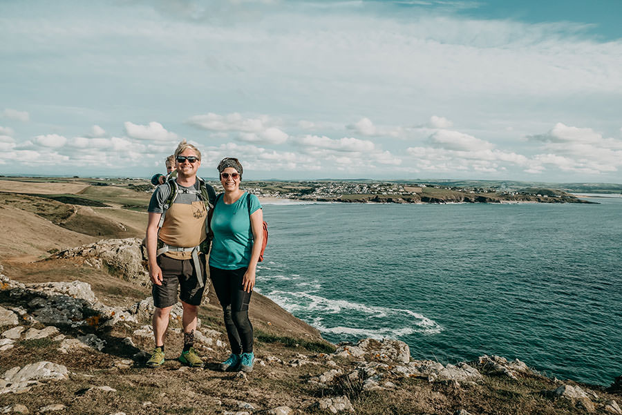A Tasty Hike - Kuestenwanderung Cornwall - Polzeath - Christian & Jana