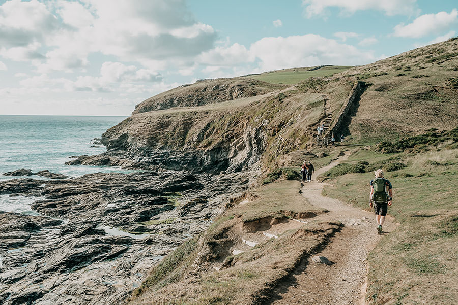 A Tasty Hike - Kuestenwanderung Cornwall - Polzeath - Coast Path