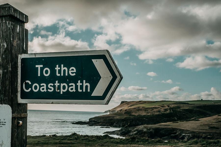 A Tasty Hike - Kuestenwanderung Cornwall - Polzeath - Coastpath