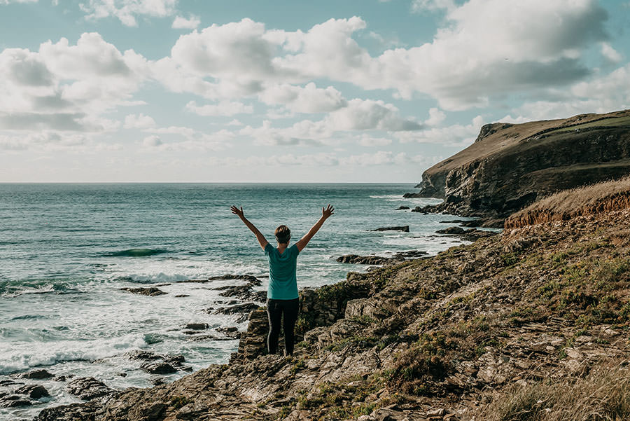 A Tasty Hike - Kuestenwanderung Cornwall - Polzeath - Titel