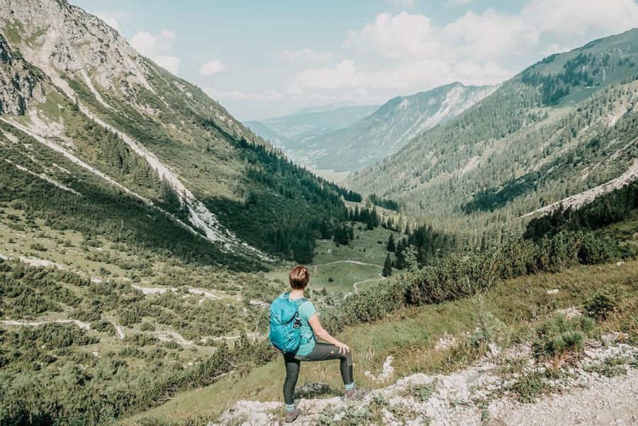 A Tasty Hike - Schrecksee Wanderung - Schrecksee Wandern - Allgaeu Anstieg
