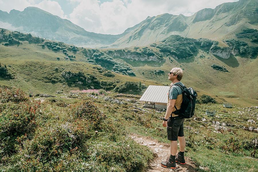 A Tasty Hike - Schrecksee Wanderung - Schrecksee Wandern - Allgaeu Kurz vor dem Ziel