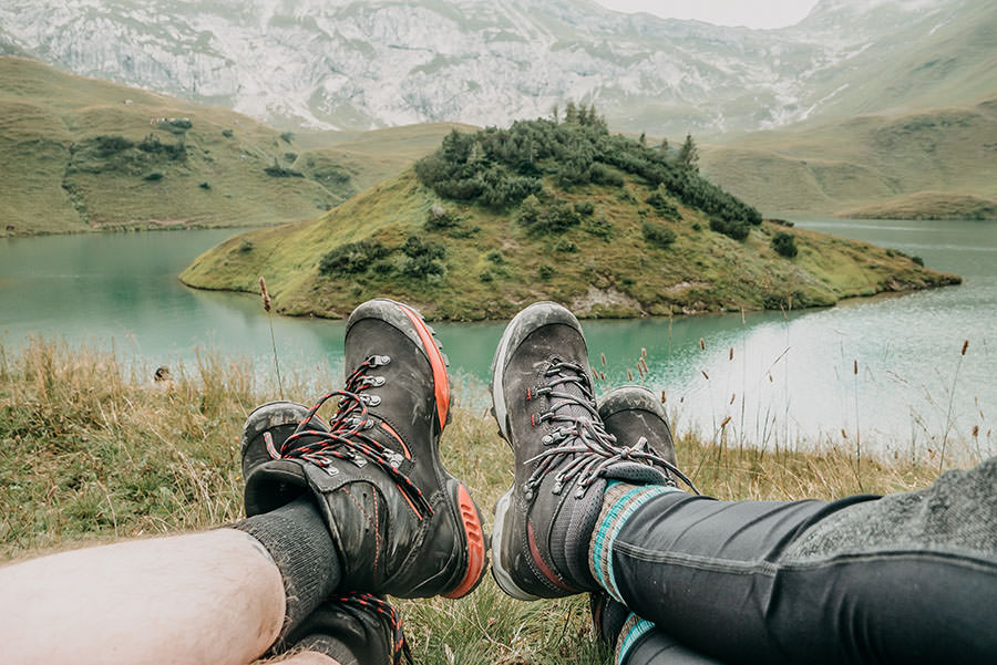 A Tasty Hike - Schrecksee Wanderung - Schrecksee Wandern - Allgaeu Wanderschuhe