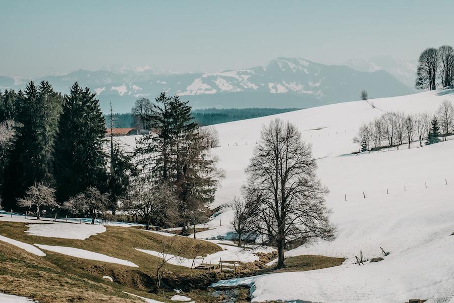 A Tasty Hike - Wandern im Winter - Eschacher Weiher - Allgaeu