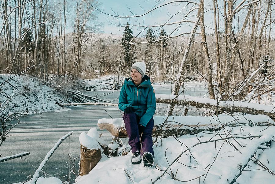 A Tasty Hike - Wandern im Winter - Glasblaeserdorf Schmiedsfelden - Allgaeu