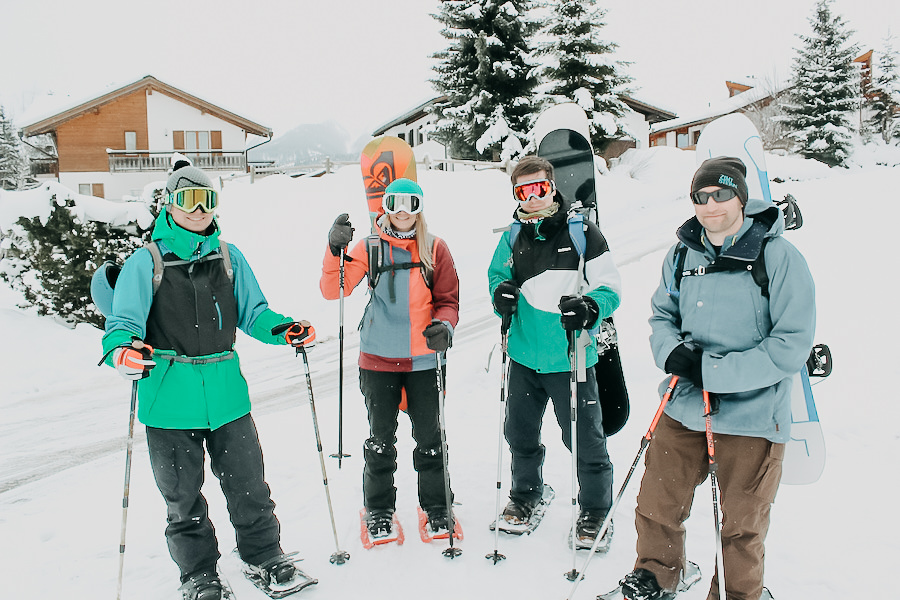 A Tasty Hike - Wandern im Winter - Schneeschuhwandern