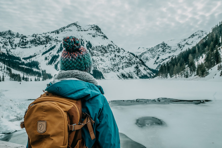 A Tasty Hike - Wandern im Winter - Titel