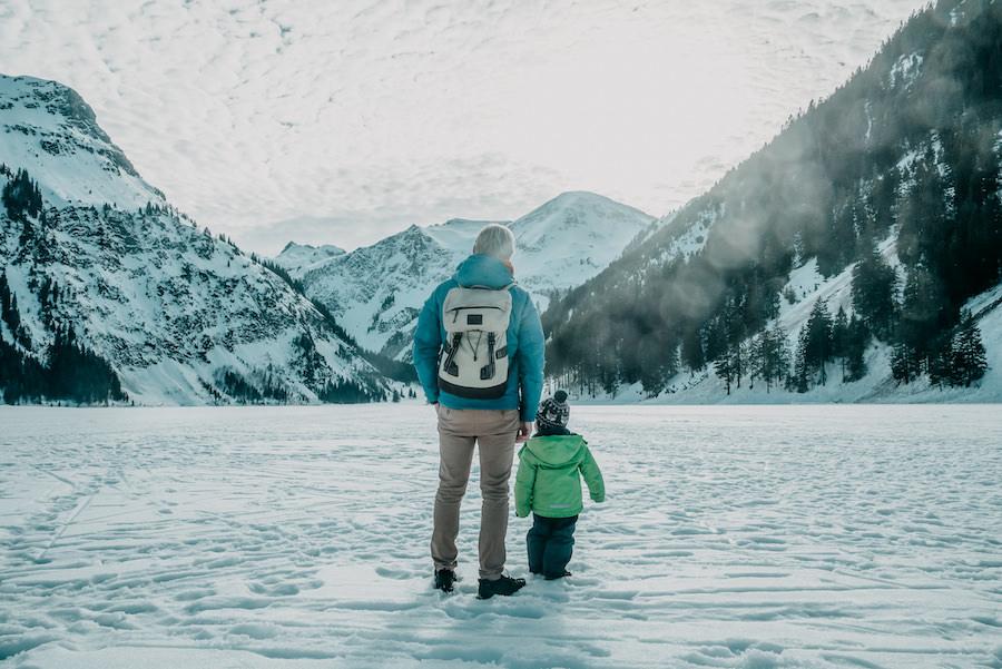 A Tasty Hike - Wandern im Winter - Vilsalpsee Tannheimer Tal