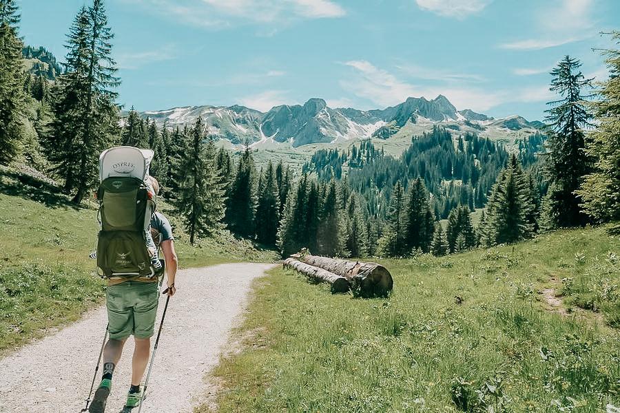 Oberstdorf Wandern - A Tasty Hike - Kleinwalsertal
