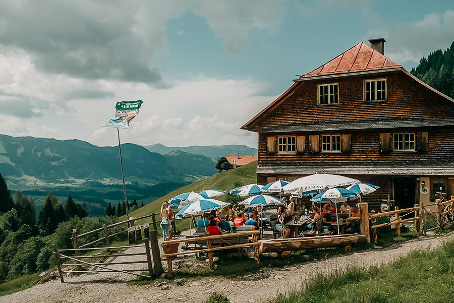 Oberstdorf Wandern - A Tasty Hike - Untere Richteralpe