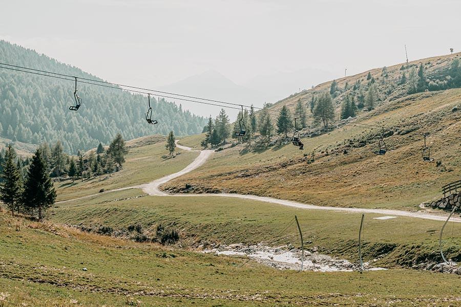 A Tasty Hike - Meran 2000 - Waidmann Alm und Kirchsteiger Alm - Genusswanderung - Wanderweg 14