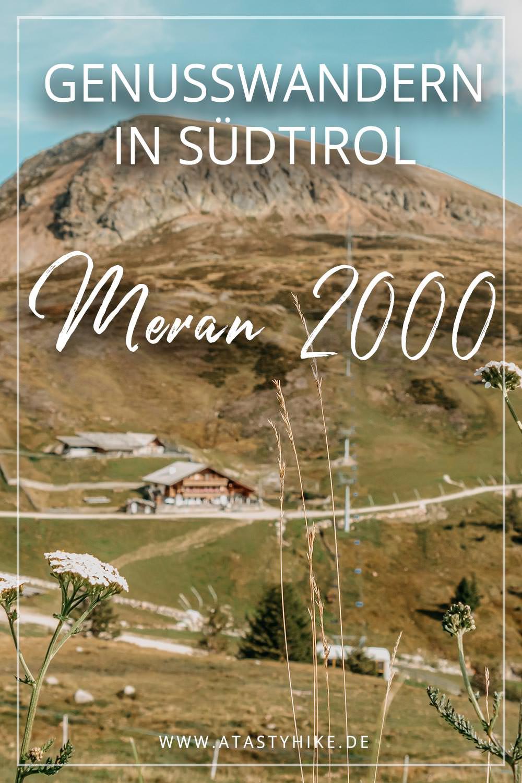 Genusswanderung am Meran 2000 in 2 Gängen: Zur Waidmann Alm und Kirchsteiger Alm